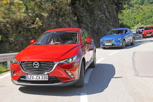 Partneraktion: Mazda CX-3-Premierentester