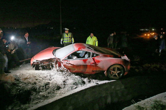 Arturo Vidal in Autounfall verwickelt