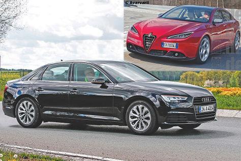Audi A4 und Alfa Giulia (2016): Erster Vergleich