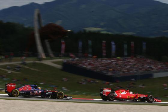 Red Bull & Ferrari
