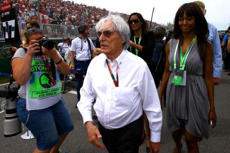 Bernie Ecclestone hat von der aktuellen Formel 1 die Schnauze voll