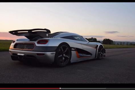 Koenigsegg One:1: Weltrekord 0-300-0 km/h