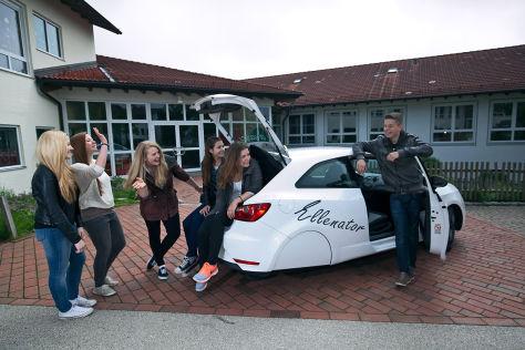 Umbau-Trick Ellenator: Auto fahren mit 16 Jahren