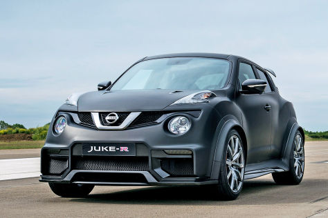 Nissan Juke-R 2.0: Premiere beim Goodwood Festival of Speed
