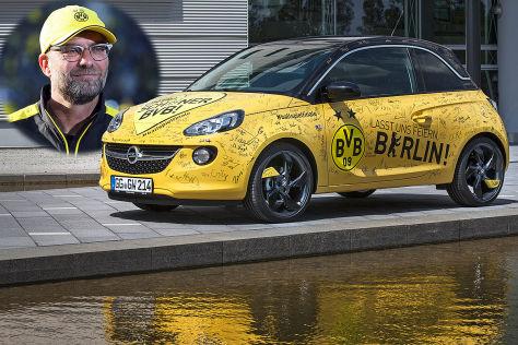 Opel Adam von Jürgen Klopp: Versteigerung