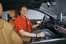 Erster Check im neuen Audi A4