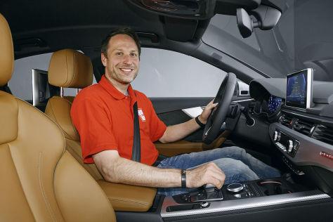 Audi A4 Avant (2015): Sitzprobe