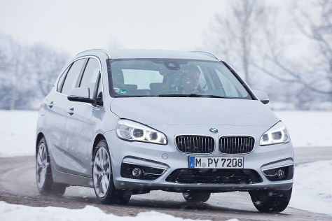BMW 2er Active Tourer Plug-in-Hybrid (IAA 2015) Test: Fahrbericht