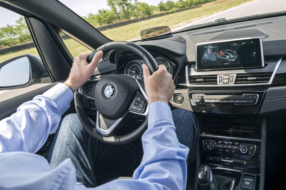 So fährt der BMW-Hybrid-Van