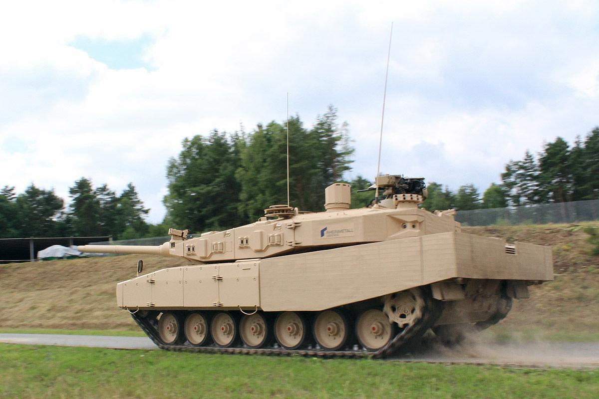 bundeswehr stärke panzer