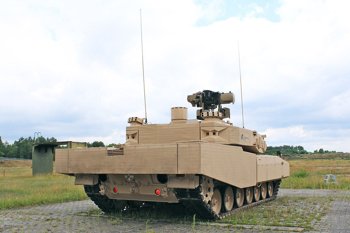 Das ist Deutschlands Panzer-Zukunft
