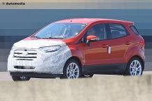 Zweites Facelift f�r den Ford EcoSport