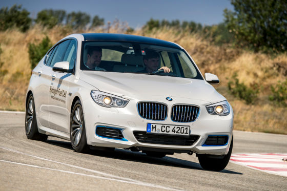 BMW 5er GT mit Brennstoffzellentechnik
