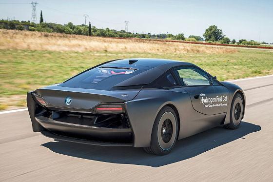 BMW i8 mit Brennstoffzellentechnik