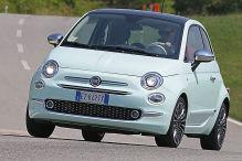 So f�hrt sich der frische Fiat 500