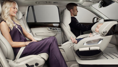 Volvo Excellence Child Seat Concept
