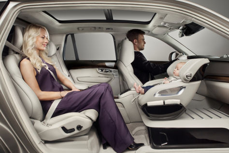 Volvo Excellence Child Seat Concept (2015)