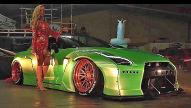 Nissan GT-R von Erotikmodel Mareike Fox