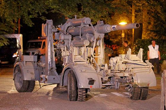 Kampfpanzer im Nobelort