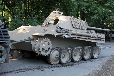 Weltkriegspanzer bei Kiel geborgen