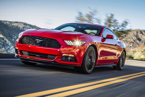 Ford Mustang: European Gay Car of the Year 2015