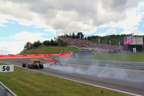 Maldonado & Verstappen