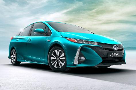 Toyota Prius (2016): Erlkönig und Zeichnungen