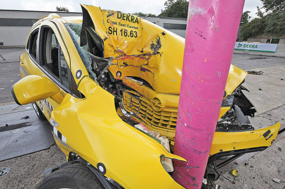 Crashtest: Opel Mokka
