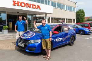Honda Civic Tourer: Guinness Weltrekord