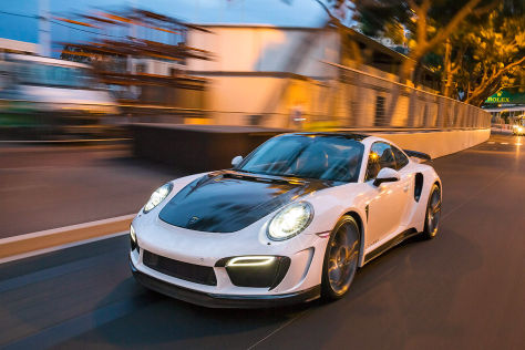 Topcar 911 Turbo Stinger GTR: Tuning