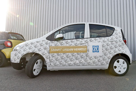 ZF Smart Urban Vehicle: Vorstellung