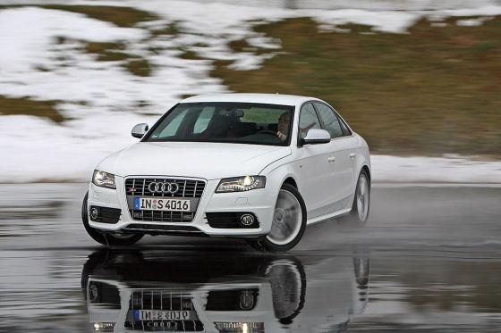 Zwangsbeatmung für den Audi S4