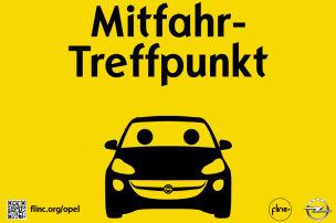 Opel als Mitfahrzentrale