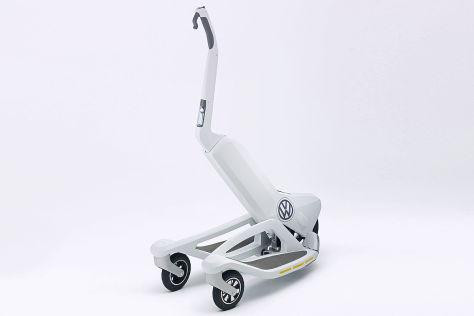 VW Last Mile Surfer: Elektroroller zum Klappen kommt 2016