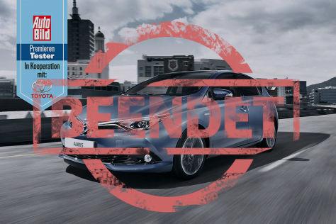 Partneraktion: Toyota Auris-Premierentester