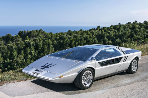 Maserati Boomerang: Versteigerung in Chantilly