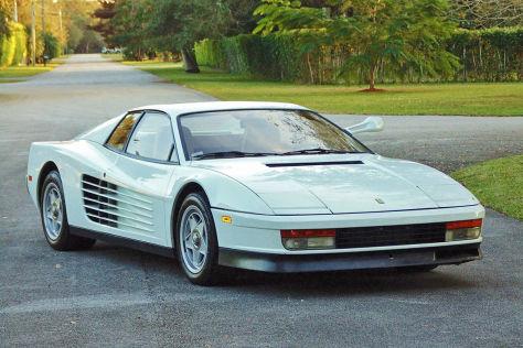 Ferrari Testarossa aus Miami Vice: Versteigerung