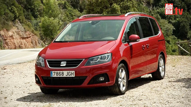 video seat alhambra facelift 2015. Black Bedroom Furniture Sets. Home Design Ideas