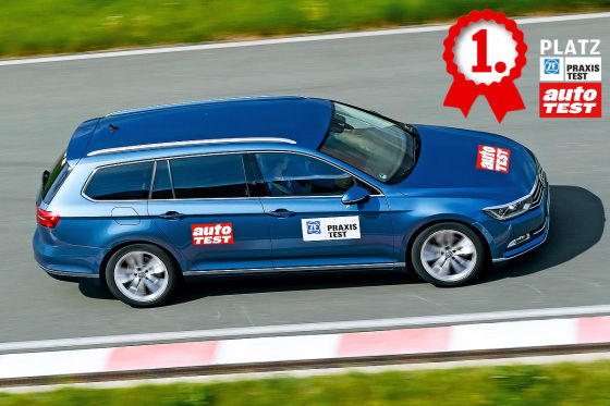 ZF-Praxistest VW Passat