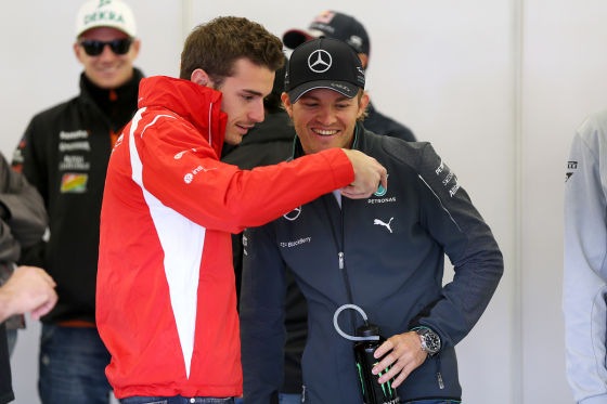 Bianchi mit Rosberg