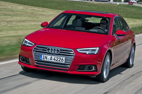 Audi A4 (IAA 2015): Fahrbericht