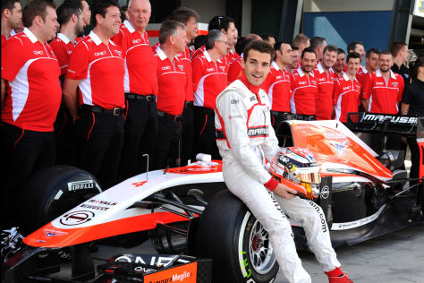 Bernie Ecclestone hält den Unfall von Jules Bianchi für sehr unglücklich