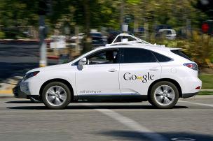 Unfall mit Google-Auto