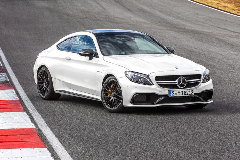 Mercedes-AMG C 63 Coupé (IAA 2015): Video