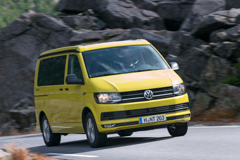 vw t6 california beach 2015 im test fahrbericht preise. Black Bedroom Furniture Sets. Home Design Ideas