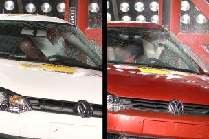 Kopf-Airbags im Vergleich