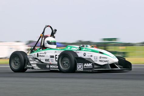 GreenTeam: Sprintweltrekord für E-Autos