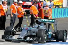 Mercedes' Reifentaktik kostet Rosberg Sieg