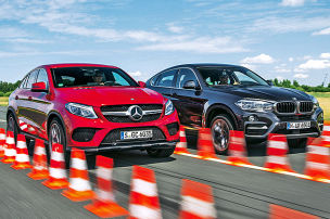 Stiehlt der GLE dem X6 die Show?