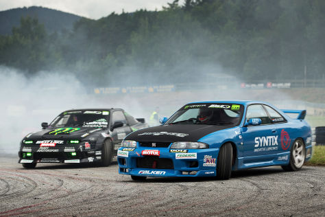 Steve 'Baggsy' Biagioni King of Europe Drift